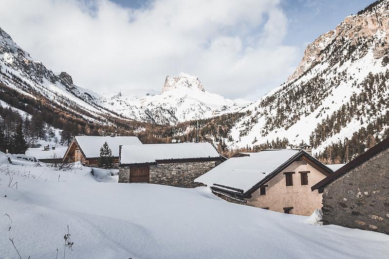 Valle stretta inverno
