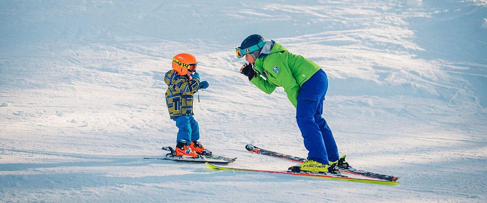 Lezioni e corsi di sci per bambini a Bardonecchia